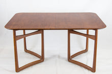 Load image into Gallery viewer, Extendable teak dining table by Peter Hvidt and Orla Mølgaard-Nielsen for France and Daverkoven