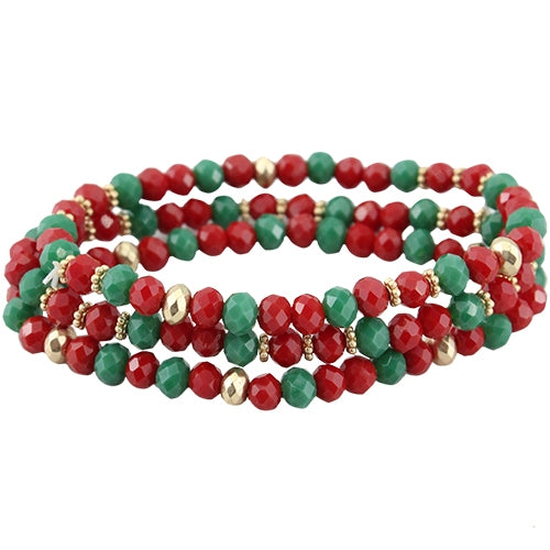 Stackable Christmas Bracelet