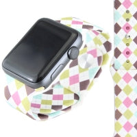 Argyle Print Watch Band