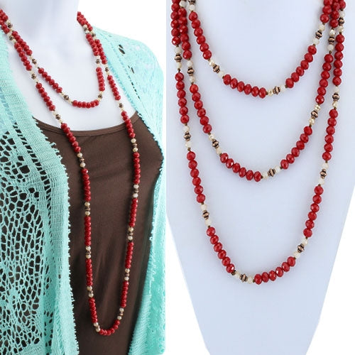 Color Me Red Necklace