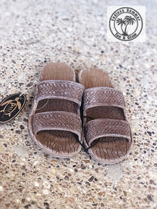 Children's Light Brown Jandals