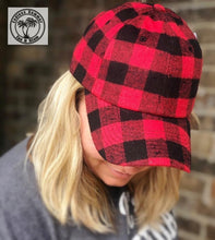 Load image into Gallery viewer, Buffalo Plaid Cap