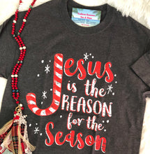 Load image into Gallery viewer, Jesus Is The Reason For The Season T-Shirt