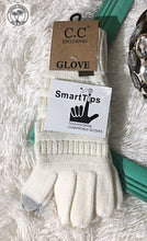 Load image into Gallery viewer, SOLID CABLE KNIT CC GLOVES