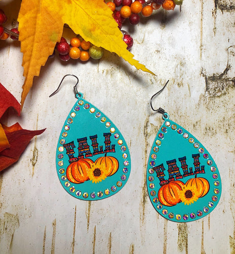 Turquoise Fall Earrings