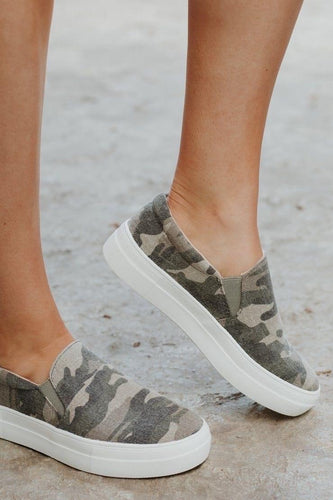 Camo Canvas Shoes