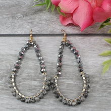 Load image into Gallery viewer, Crystal & Beaded Earrings