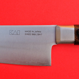 "Chef's knife KAI Stainless High carbon Clad steel AOFUJI 180mm 7"" AE-5153 Seki Japan"