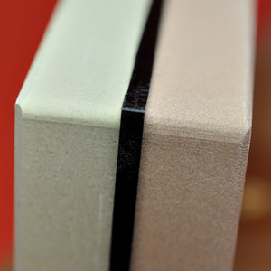 Dual waterstone KING KW-65 HT-65 whetstone double side close up