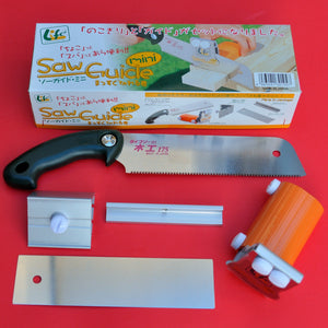 Precision mini Z saw guide + saw 175mm kataba Okada life cut 45 + 90 angle Japan Japanese