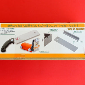 User guide Precision mini Z saw guide + saw 175mm kataba Okada life cut 45 + 90 angle Japan Japanese