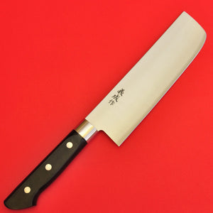 "Nakiri kitchen knife vegetables 165mm 6.5"" Stainless steel Japan"