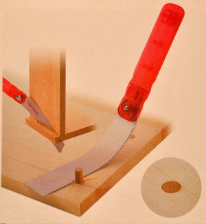 Packaging Z-saw LIFE Japanese FLUSH CUTTING KUGIHIKI wood saw CRAFT 145 145mm Japan Japanese tool woodworking carpenter