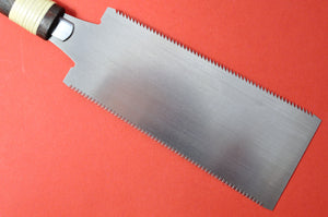 Japan Ryoba saw blade crosscut ripcut close up