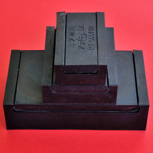 Sandpaper rubber clamp 3 sizes Japan