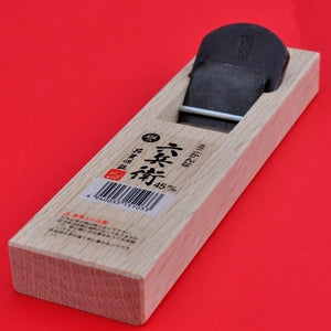 Japan Wood smoothing hand plane Rokube Kanna 45mm Japanese