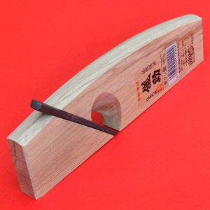 Back view Rabbet plane GISUKE Kushi kanna 15mm  Japan Japanese tool woodworking carpenter