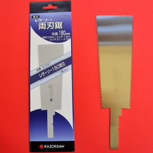 Razorsaw Gyokucho RYOBA Rip Cross cut 291 180mm spare blade Japan Japanese tool woodworking carpenter