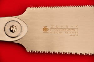 Close-up Razorsaw Gyokucho RYOBA 650 240mm blade Japan Japanese tool woodworking carpenter
