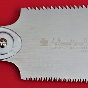 Close-up Blade Japan Razorsaw Gyokucho RYOBA Rip Cross cut 655 270mm teeth