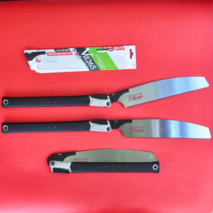 Z-saw Zsaw folding saw KATABA VIII 265 mm + spare blade Crosscut Japan both positions folded