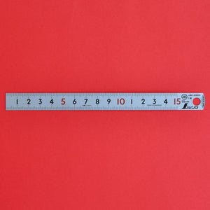 SHINWA pick up ruler scale 15cm  Stainless 15cm 13131