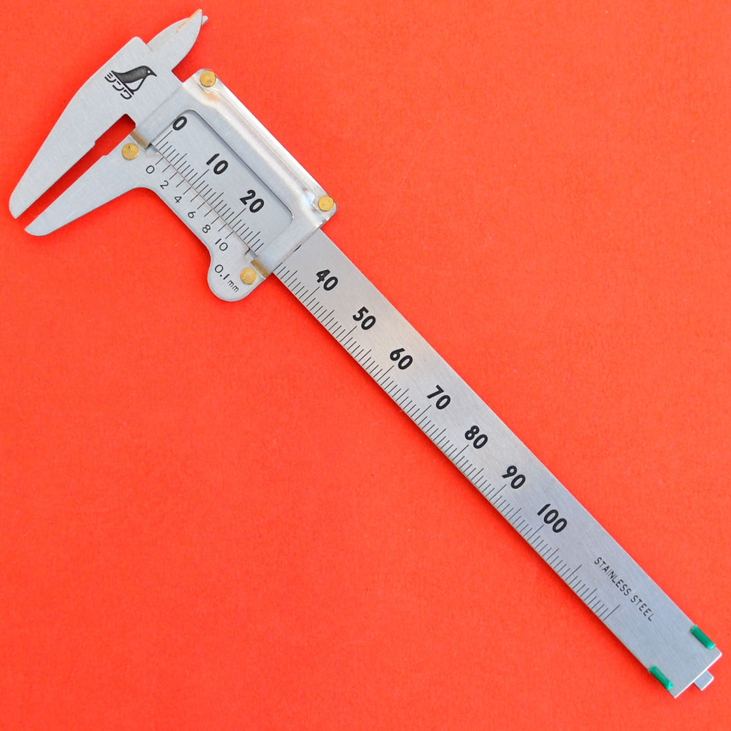 SHINWA 100mm caliper calliper ruler precision 0.1mm 19518 Japan Japanese tool