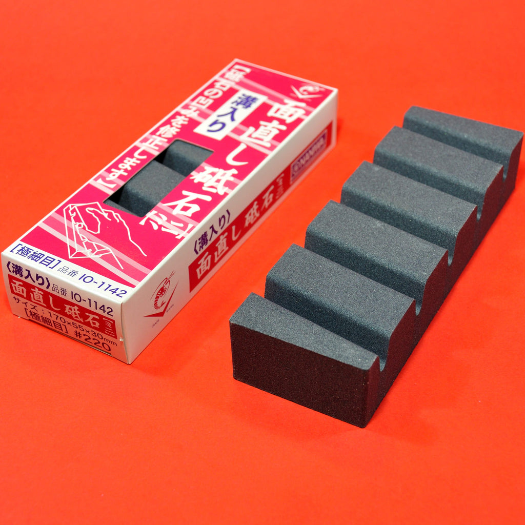 NANIWA FLAT Repair Flattening stone for waterstone whetstone #220 IO-1142 Japan