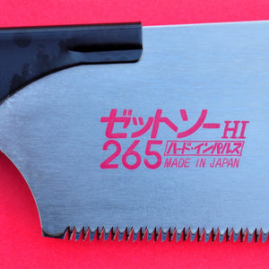 z-saw Zsaw kataba HI 265mm crosscut japan blade close up
