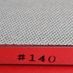 Close-up side view Atoma Tsuboman diamond sharpening plate stone #140 Japan japanese whetstone waterstone japan