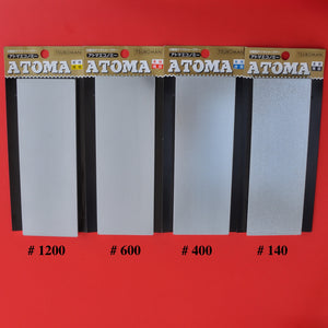 All 4 Atoma Tsuboman diamond sharpening stone Japanese waterstone whetstone japan