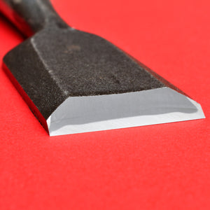 Close-up blade 36mm SENKICHI Chisel oire nomi Yasugi Steel blade Japan japanese tool woodworking carpenter