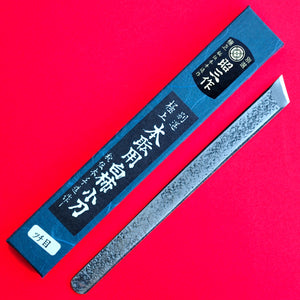 Japan hand-forged carving marking chisel blade Aogami II blue steel Shōzō 15mm