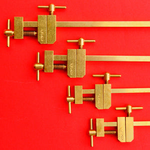 KAKURI Hatagane Brass bar clamps clamp made in Japan