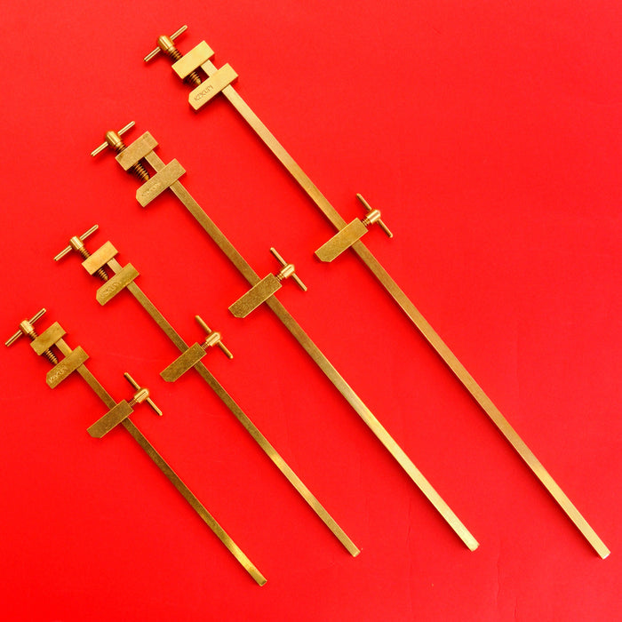 KAKURI Hatagane Brass bar clamps