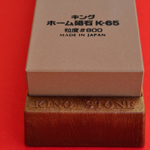 Japan KING K-65 #800 waterstone Home stone whetstone knife sharpener
