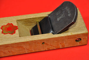 "Side view Japanese wood hand plane ""Sakura Nihon"" Kanna  58mm Japan Japanese tool woodworking carpenter"