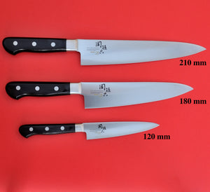 Kitchen SET 3 Knives KAI High carbon stainless steel IMAYO Japan
