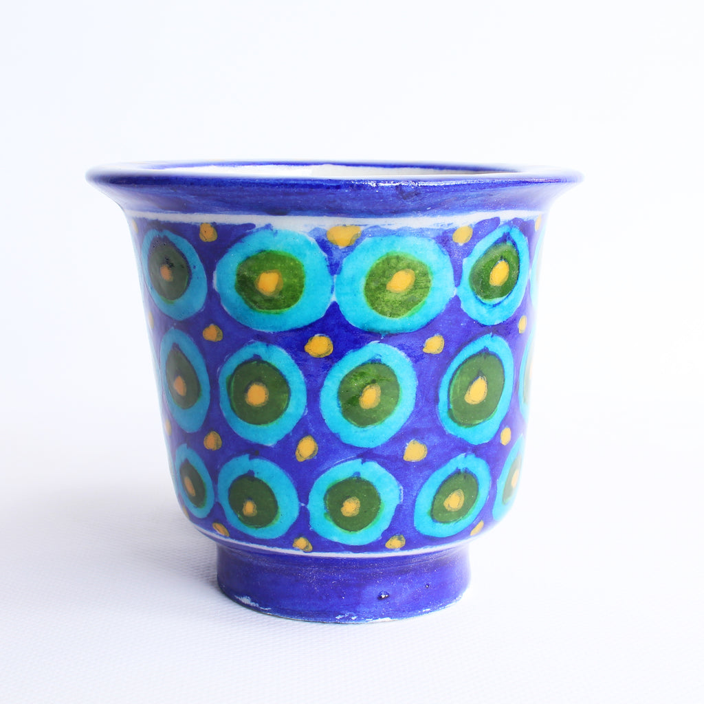 Jaipur Blue Pottery Planter