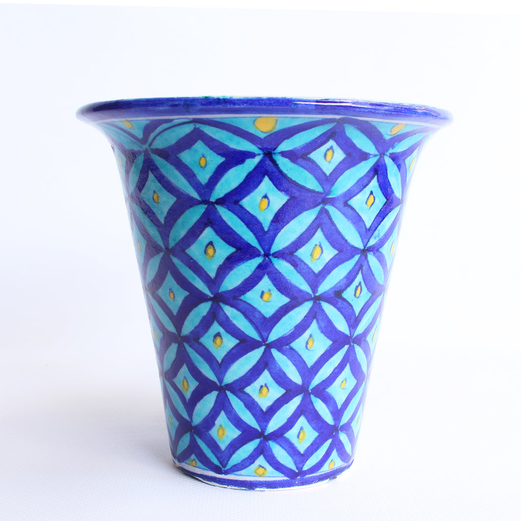Jaipur Blue Pottery Planter Large