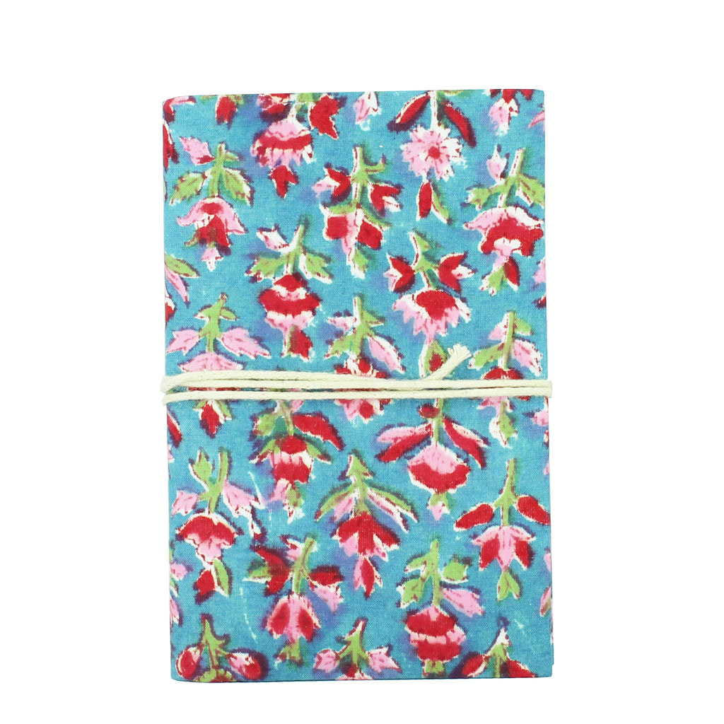 Note Book Floral Blue 10x15cms Pack of 3