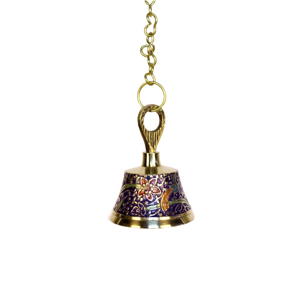 Brass Painted Hanging Bell