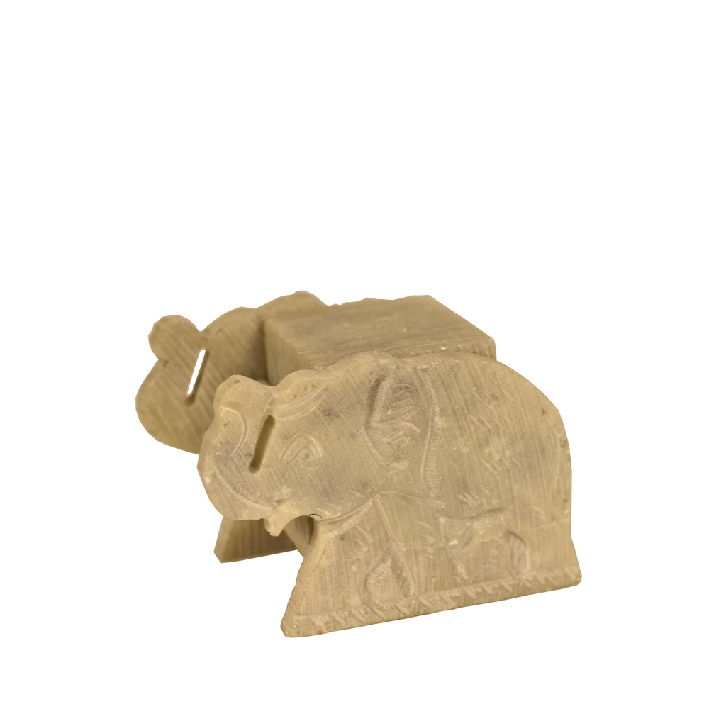 Elephant Incense Stand made from Soapstone