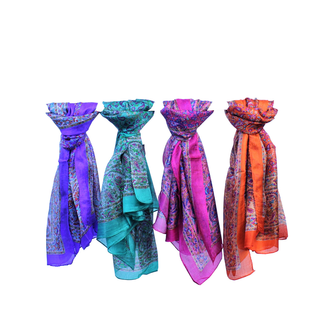 Silk Scarves Square