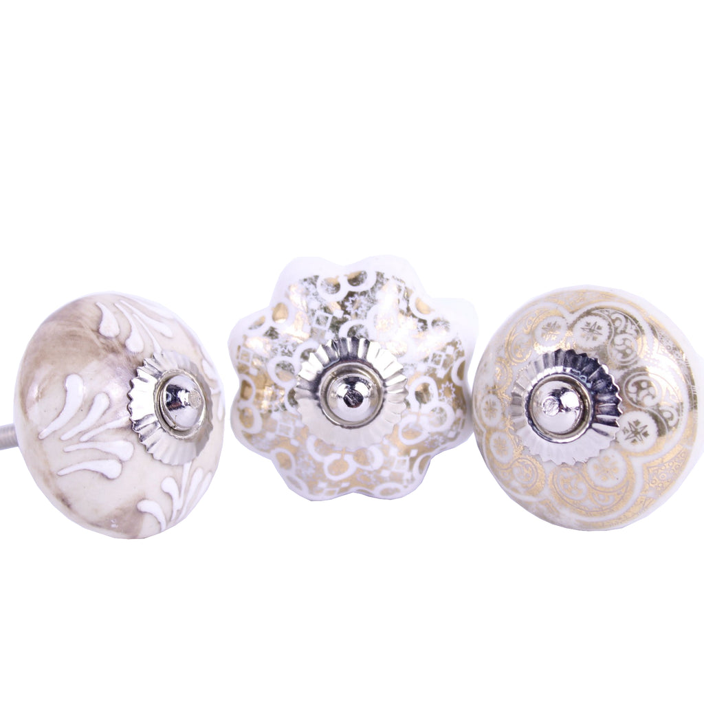 Door / Drawer Knob Golden pack of 4