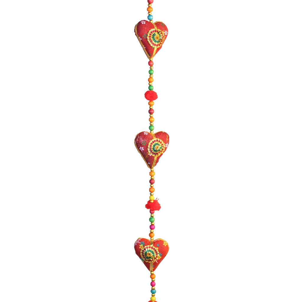 Red Heart Hanger Cloth 5 Hearts