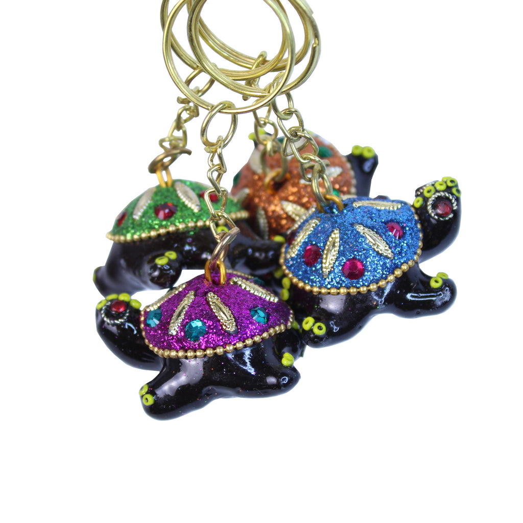 Turtle Key Ring (Pack of 4)