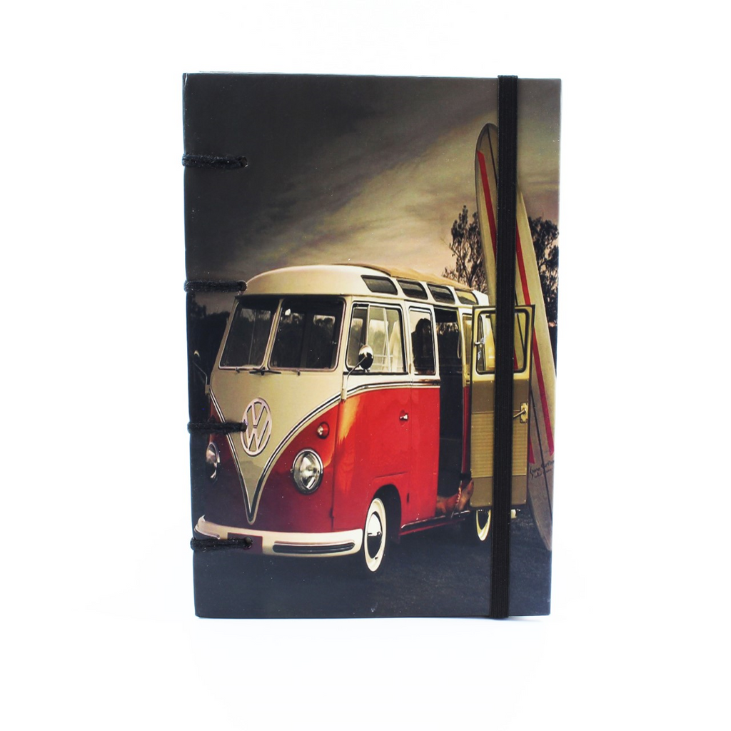 Red Beach Kombi Journal 14x20cms