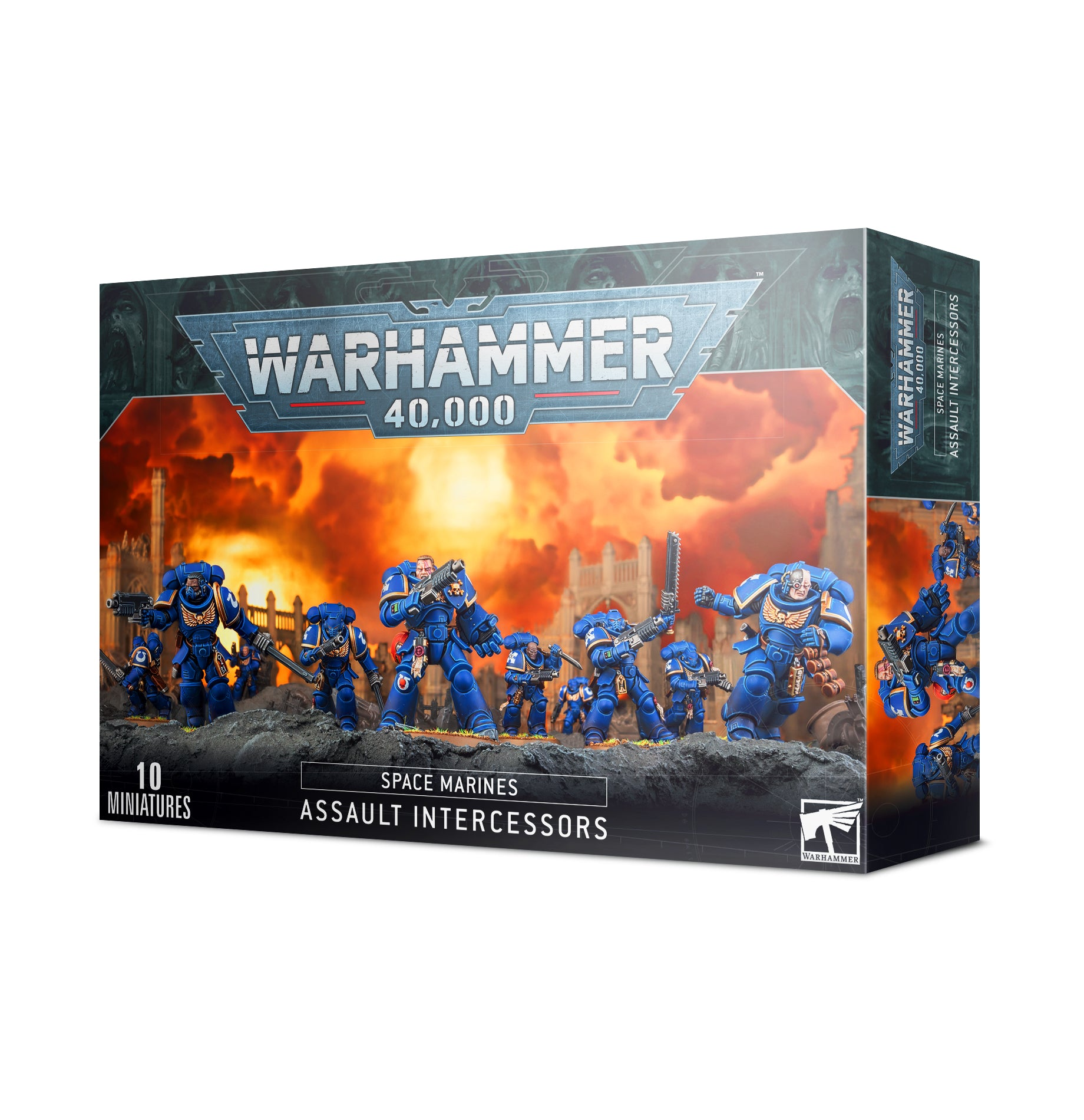Space Marines: Assault Intercessors | Gear Gaming Fayetteville