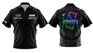 Replica Black/Multi Snakebite Polo Shirt